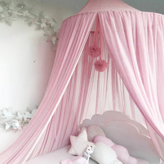 Traditional/Classic Solid Color Chiffon Mosquito Net (Sold in a single piece)