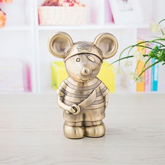 Cute Animal/Simple Tin Alloy Piggy Bank