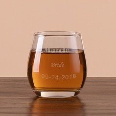 Bride Gifts - Personalized Classic Glass Glassware and Barware
