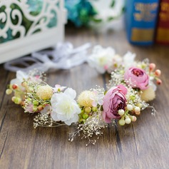 Ladies Beautiful Silk Flower Headbands
