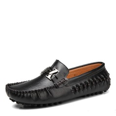 Men's Real Leather Horsebit Loafer Casual Men's Loafers