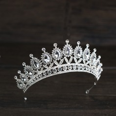 Ladies Special Rhinestone/Alloy Tiaras With Rhinestone (Sold in single piece)