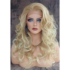 Wavy Synthetic Hair Lace Front Wigs 220g