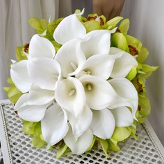Free-Form Simulation PU Materials Bridal Bouquets -
