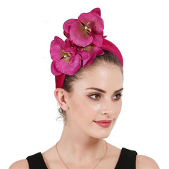 Ladies' Glamourous/Elegant Velvet With Flower Fascinators/Kentucky Derby Hats