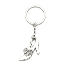 Personalized Shoes Design Zinc Alloy Keychains