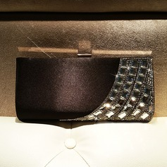 Refined Silk/Crystal/ Rhinestone Clutches/Satchel