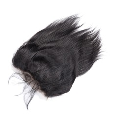 4A Straight Human Hair Closure (Sold in a single piece) (219132416)