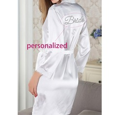 Personalized Nylon Bridal/Feminine Robe(20 letters or less)