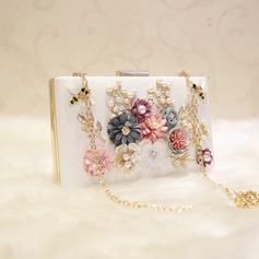 Fashional PU/Alloy Clutches