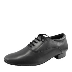 f5e49a7816f Men s Real Leather Ballroom Dance Shoes