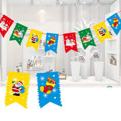 Christmas Paper Home Décor (Sold in a single piece)