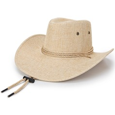 Men's Unique Linen Cowboy Hat