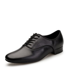 Men's Leatherette Latin Modern Dance Shoes