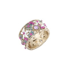 Colourful Alloy With Rhinestone Ladies' Fashion Rings
