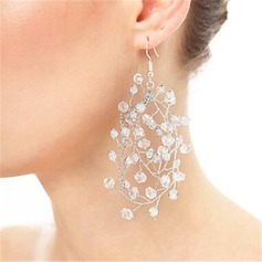 Elegant Rhinestones With Rhinestone Ladies' Earrings