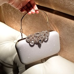 Elegant Alloy Clutches/Satchel/Top Handle