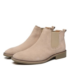 Men's Suede Chelsea Casual Men's Boots (261216558)