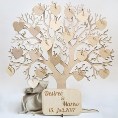 """Our Wedding Tree"" Wood Guestbook (101188097)"