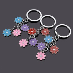Classic Colorful Flowers Design Zinc alloy
