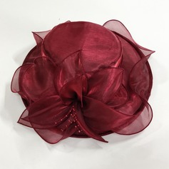 Dames Magnifique Organza Chapeau melon / Chapeau cloche/Kentucky Derby Des Chapeaux/Chapeaux Tea Party (196208985)
