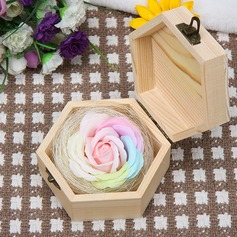 Round Soap Flower Decorations -