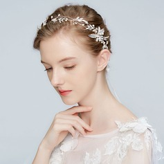 Unique Alloy Headbands With Venetian Pearl (Sold in single piece)