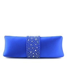 Delicate Satin/Crystal/ Rhinestone Clutches