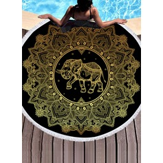 Retro/Vintage/Elephant Oversized Beach towel