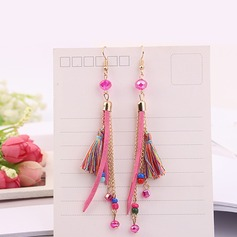 Shining Resin Copper Fashion Earrings