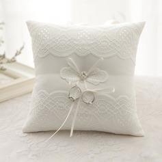 Elegant Ring Pillow in Satin