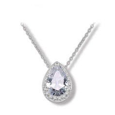 Shining Alloy Zircon Women's Fashion Necklace
