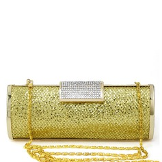 Bright Polyester Clutches
