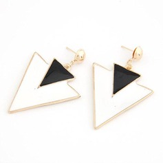 OL Style Alloy Resin Ladies' Fashion Earrings