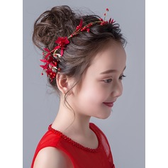 Alloy With Flower Headbands