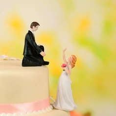 Classic Couple Resin Wedding Cake Topper
