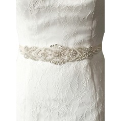 Fashional Satin Sash With Rhinestones