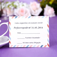 Personalized Simple Pearl Paper Response Cards