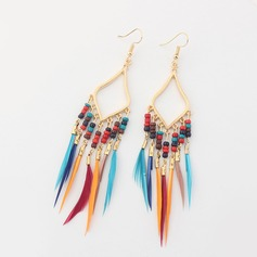 Beautiful Alloy Beads Ladies' Fashion Earrings