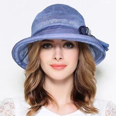 Ladies' Beautiful Silk With Bowknot Bowler/Cloche Hat