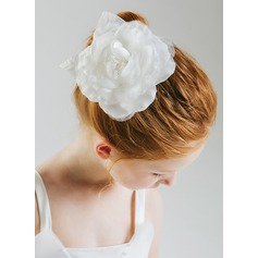 Polyester Flower Headband