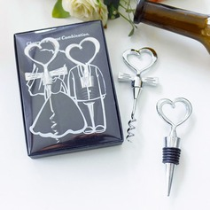 Heart Shaped Love Design Metal Bottle Openers