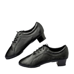 Men's Real Leather Modern Practice Dance Shoes