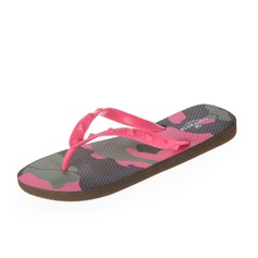Women's PVC Flat Heel Sandals Flip-Flops shoes