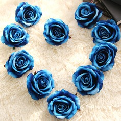 Round Satin Decorations/Flower Gifts (Sold in a single piece) -