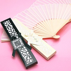 Vintage Style/Elegant Vintage Style Bamboo Hand fan With Ribbons