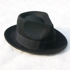 Men's Glamourous/Elegant/Simple Felt Fedora Hat