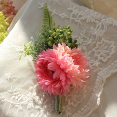 Pretty Satin/Silk Boutonniere -