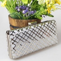 Charming Polyester/PU Clutches/Wristlets