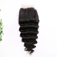 "4""*4"" 4A Deep Human Hair Closure (Sold in a single piece)"